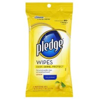 Pledge Lemon Clean Pre-Moistened Wipes 24 ea [046500728075]
