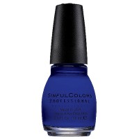 Sinful Colors Professional Nail Polish, Endless Blue 0.5 oz [733854977241]