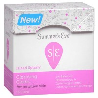 Summer's Eve Cleansing Cloth for Sensitive Skin, Island Splash  16 ea [041608002003]