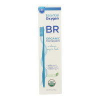 Essential Oxygen BR Organic Toothpaste Peppermint, 4 oz [857584005101]
