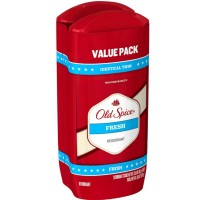 Old Spice High Endurance Deodorant Twin Pack, Fresh Scent 3 oz [012044039571]