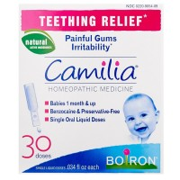 Boiron Camilia Teething Relief Liquid Doses 30 ea [306969054093]