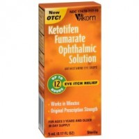 Akorn Ketotifen Fumarate Ophthalmic Solution 0.17 oz [317478717102]
