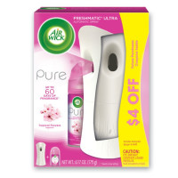 AirWick FRESHMATIC Ultra - Starter Kit, Pure Tropical Flowers, 1 ct [062338972909]