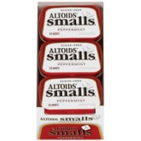 Altoids Smalls Sugar Free Peppermint Mints 9 packs (0.5oz per pack)  [022000009739]