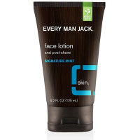 Every Man Jack  Face Lotion and Post-Shave, Signature Mint 4.2 oz [878639000551]