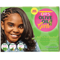 ORS Olive Oil Girls Built-In Protection + No-Lye Conditioning Relaxer System 1 ea [632169191550]