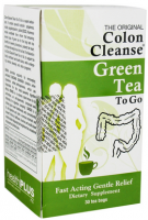 Health Plus Colon Cleanse Green Tea To Go, Tea Bags 20 ea [083502900139]