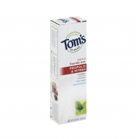 Tom's of Maine Propolis & Myrrh Natural Fluoride Free Toothpaste, Spearmint 5.5 oz [077326830857]