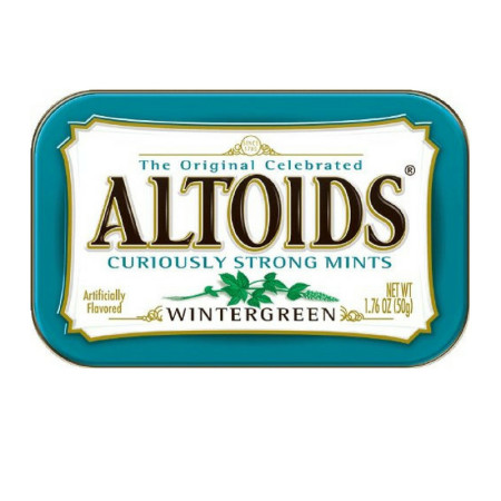 Altoids Tin Wintergreen 12 packs (1.7 oz per pack)  [022000158932]