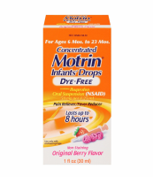 Motrin Concentrated Infants' Drops Dye-Free, Original Berry 1 oz [300450198013]
