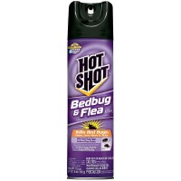 Hot Shot Bedbug & Flea Killer Aerosol 17.50 oz [071121961143]
