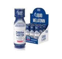 Dream Water Liquid Melatonin Shot, 2.5 oz bottles, 12 ea [857430002650]