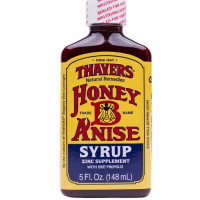 Thayers Zinc Syrup Supplement with Bee Propolis, Honey-B-Anise 5 oz  [041507066052]