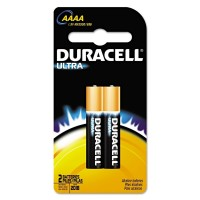 Duracell Ultra Power Alkaline Batteries AAAA 2 ea [041333662879]