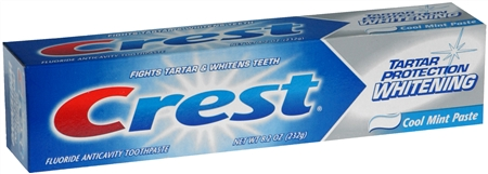 Crest Tartar Protection Toothpaste Whitening Cool Mint Paste 8.20 oz [037000728283]