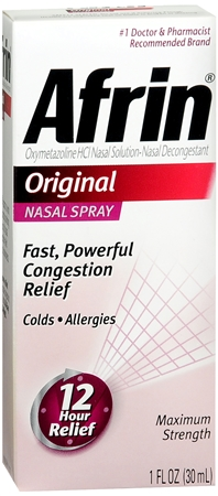 Afrin Nasal Spray Original 30 mL [300850756080]