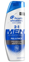 Head & Shoulders Full & Thick 2-in-1 Dandruff Shampoo + Conditioner for Men, 13.5 oz [037000782940]