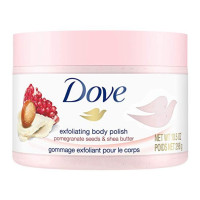 Dove, Exfoliating Body Polish Pomegranate Seed & Shea Butter 10.5 .6 [011111002029]