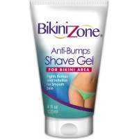 Bikini Zone Anti-Bumps Shave Gel For Bikini Area 4 oz [018515016058]