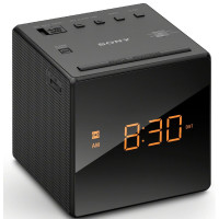 Sony Alarm Clock Radio, Black [ICFC1] 1 ea [027242872288]