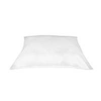 Betty Dain Satin Standard Pillowcase in White, 2 ea [013534600387]