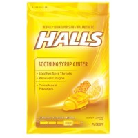 Halls Plus Drops Honey-Lemon 25 Each [312546628229]