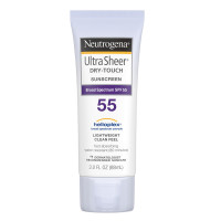 Neutrogena Ultra Sheer Dry-Touch Sunscreen SPF 55 3 oz [086800687900]
