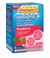 Emergen-C Immune+ System Support, Raspberry 10 ea [885898000307]