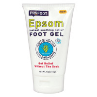 ProFoot Epsom Instant Soothing Relief Foot Gel, 0.4 oz  [080376525246]