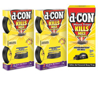D-Con Mouse Trap Bundle 1 ea [191567853106]
