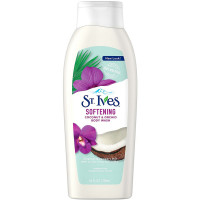 St. Ives Softening Body Wash, Coconut and Orchid 24 oz [077043401453]