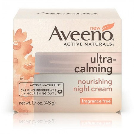 aveeno ultra calming night cream reviews