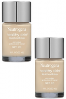 Neutrogena Healthy Skin Liquid Makeup SPF 20, Classic Ivory [10], 2 pack [086800670018]