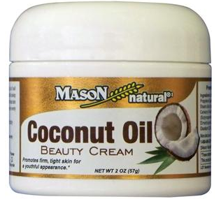 Mason Natural Coconut Oil Beauty Cream 2 oz [311845164070]