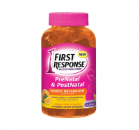 FIRST RESPONSE  PreNatal & PostNatal Energy Metabolism Support, Orange Punch 90 ea [022600998983]