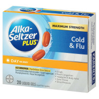 Alka-Seltzer Plus Day Cold & Flu Liquid Gels 20 ea [016500555308]