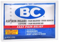 BC Original Formula Pain Relief Powders 6 Each [042037103644]