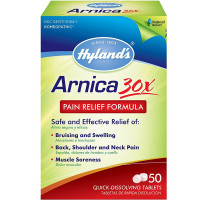 Hyland's Arnica Pain Relief Quick Dissolving Tablets 50 ea [354973326613]