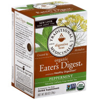 Traditional Medicinals Eater's Digest Herbal Tea Bags 16 ea [032917000224]
