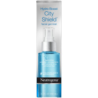 Neutrogena Hydro Boost City Shield Replenishing Facial Mist Gel with Hydrating Hyaluronic Acid and Antioxidants 3.3 oz [070501100622]