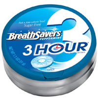 Breath Savers 3-Hour Peppermint 8 Pack (1.1 oz per pack) [989803448102]