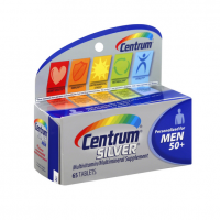 Centrum Silver Men 50+ Multivitamin Tablets 65 ea [300054758651]