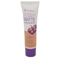 Rimmel London Stay Matte Liquid Mousse Foundation, True Beige [203] 1 oz [3607342675810]