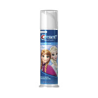 Crest, Kids Toothpaste, Frozen, Blue Bubble Gum Pump 4.2 oz [037000984085]