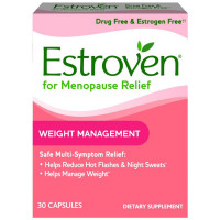 Estroven Weight Management Multi-Symptom Menopause Relief Capsules 30 ea [092961040225]