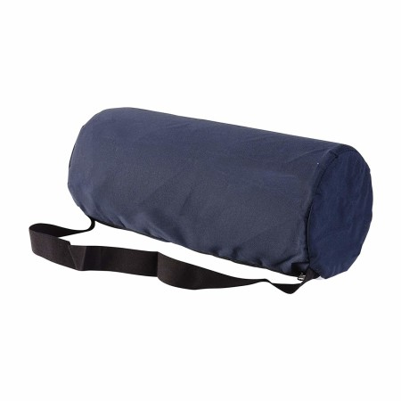 DMI Lumbar Roll Back Support Cushion Pillow - Foam Lumbar Cushion with Cover and Strap, Navy Size: 10.75 x 4.75 inches 1 ea [041298079125]