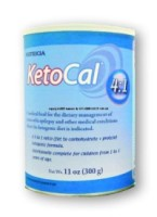KETOCAL Oral Supplement Size: 300 GM Vanilla Can Powder - 1 ea [749735018422]