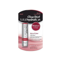 ChapStick Total Hydration Tinted Moisturizer Lip Balm Tube, Hello Bordeaux, 0.12 oz  [305731959017]