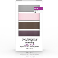 Neutrogena Nourishing Long Wear Eye Shadow + Built-In Primer, Cool Plum [10] 0.24 oz [086800437345]